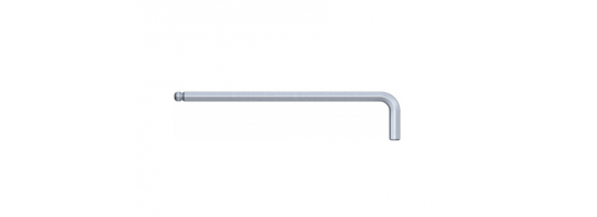 Klucz imbusowy 5,0x160x28 Hex wydł. z kulką S&R