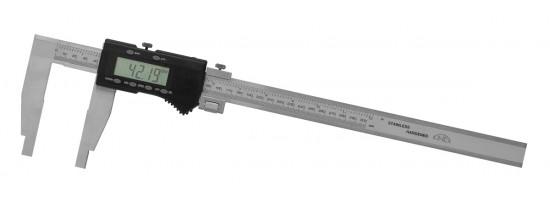 Suwmiarka elektroniczna bez górnych noży - BIG DISPLAY KINEX, 300/90 mm, ISO...